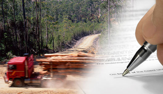 Tas Forestry Agreement